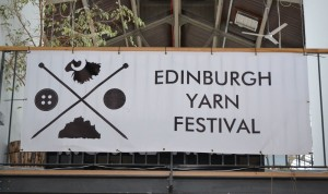 Edinburgh Yarn Festival banner