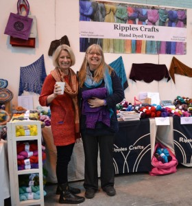 Helen Lockhart and friend (sorry I did not get a chance to get your name!) of Ripples Crafts.