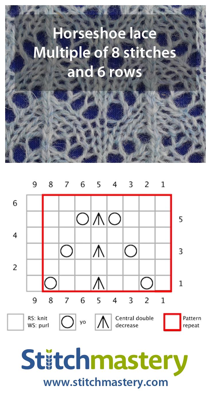 Horseshoe lace - smaller
