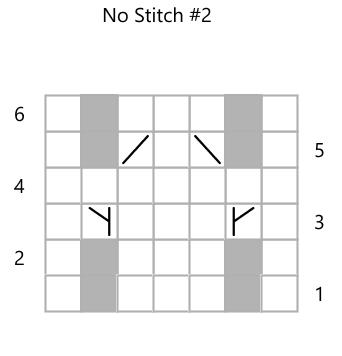 No Stitch chart 2