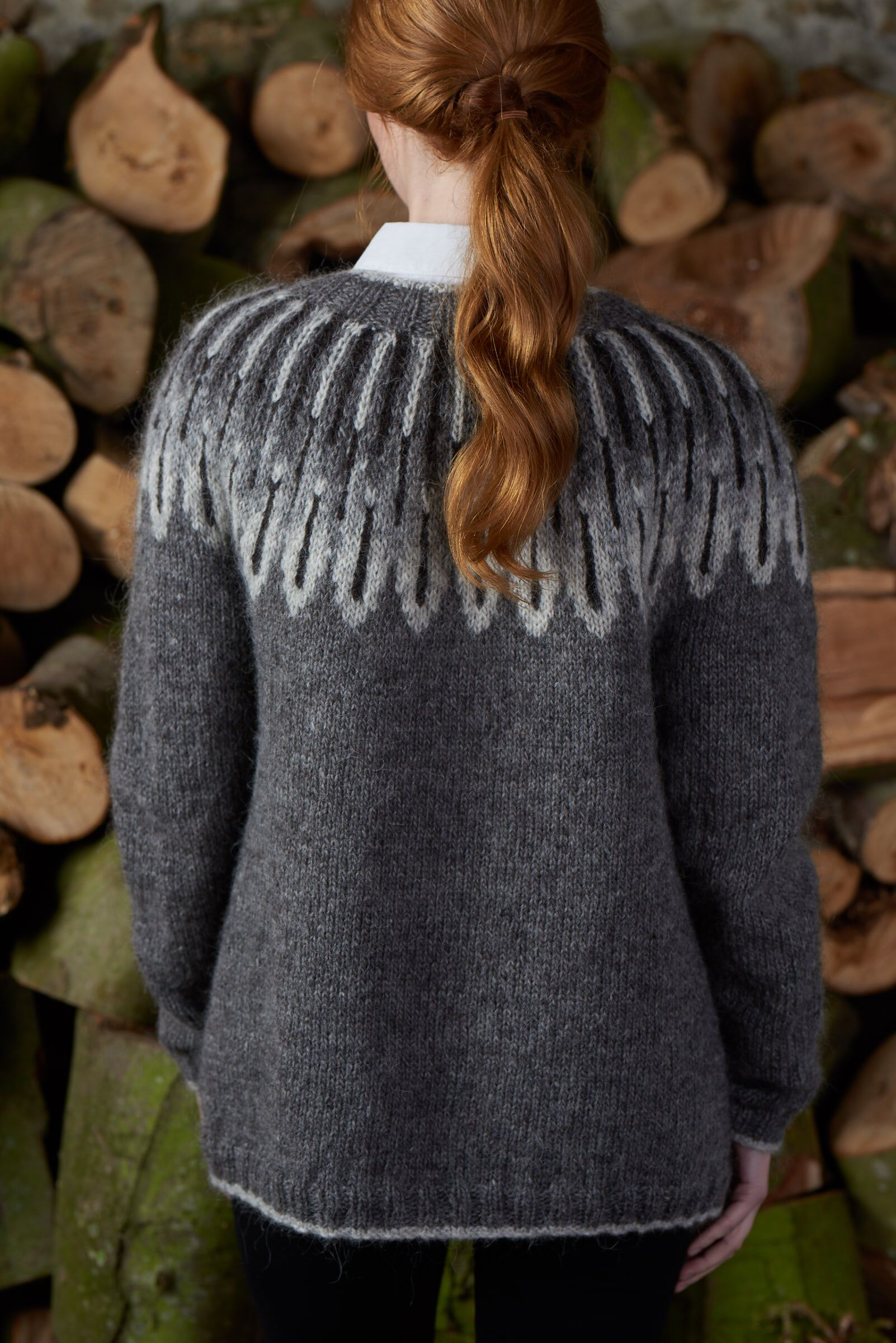 946550655d793 Photo of Owl Feathers Cardigan by Rosee Woodland